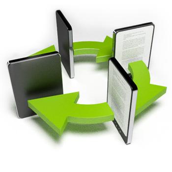 Ebooks, Advantages of PDF and Ebooks, Ebook converters