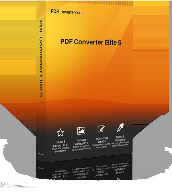 PDF Converter Elite Box
