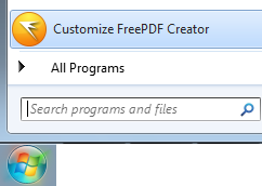 Customizing FreePDF Creator