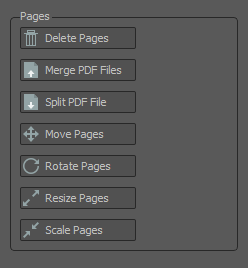 pages editing