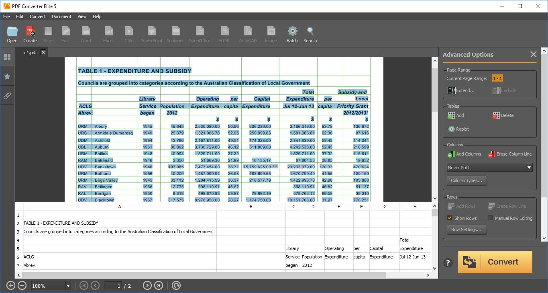 Convert PDF to Excel Free Online – PDFConverter.com