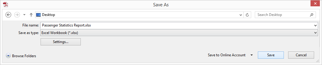Save PDF To Excel