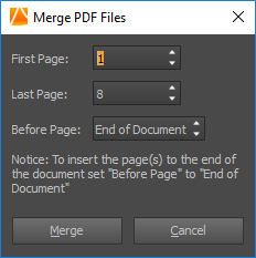 PDF Converter Elite Merge PDF Files