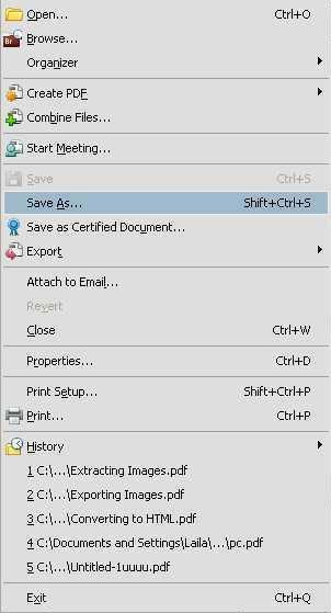 save pdf file as jpeg