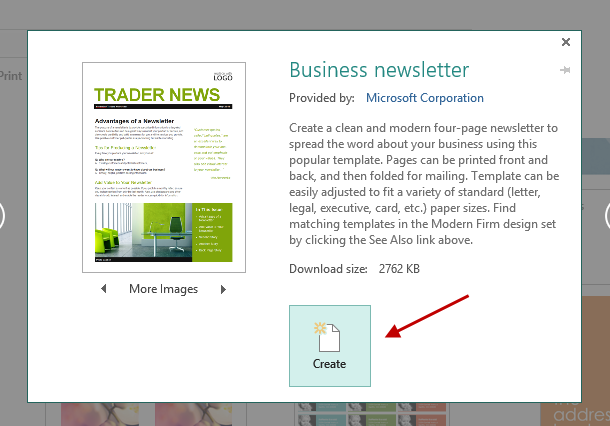 How To Convert PDF To Publisher File - One page newsletter template publisher