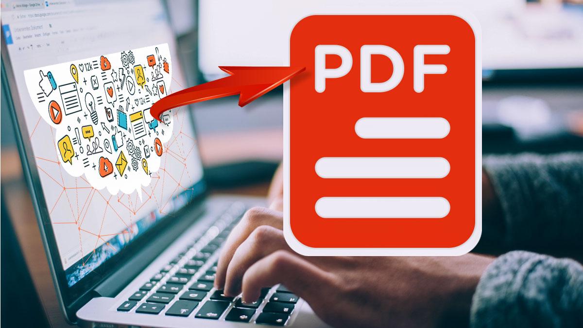 convert blog to pdf