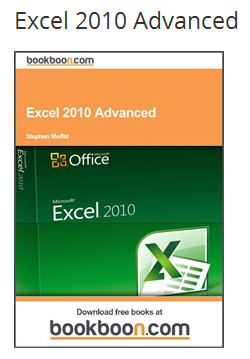 MS Excel 2010 advanced guide