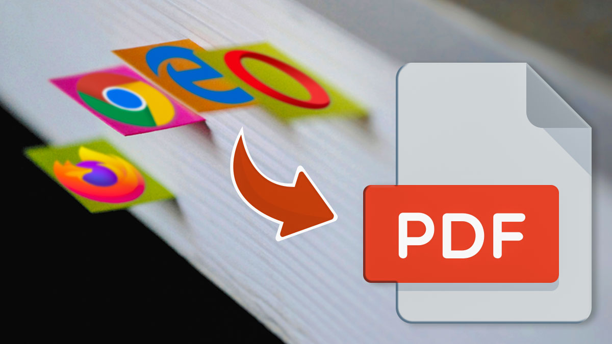 how to convert browser bookmarks to pdf