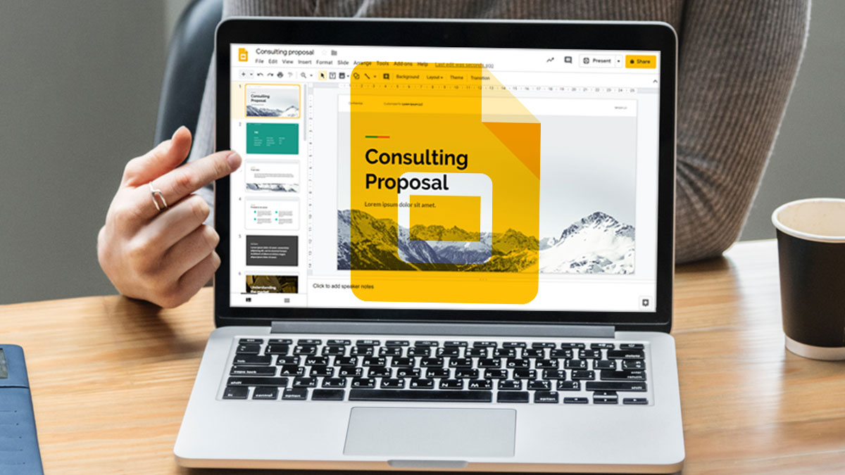 how to enhance presentations in google docs