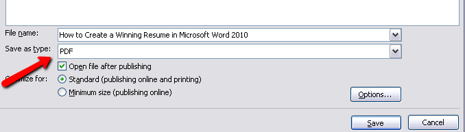 how to make a resume on word