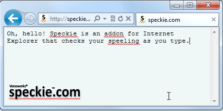 Grammar Checker for IE