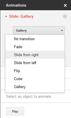 add slide transitions