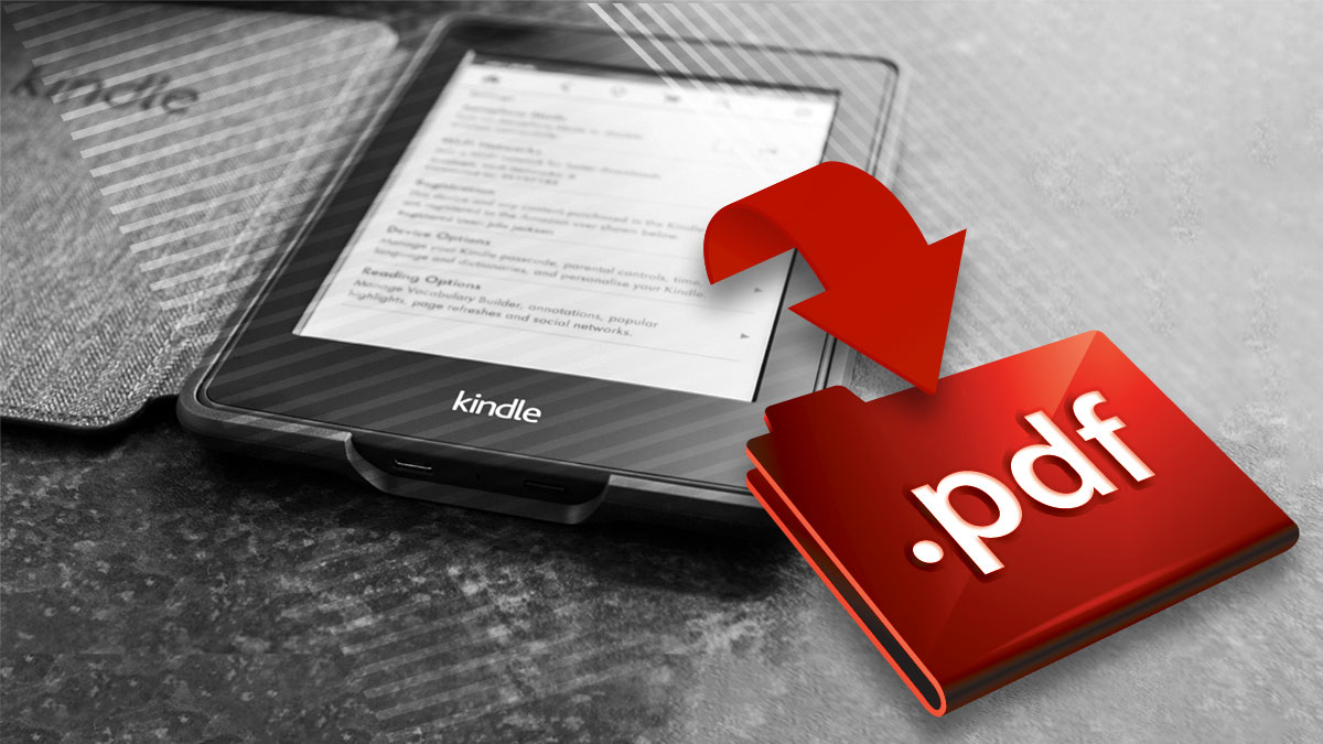 convert kindle to pdf