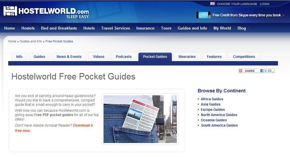 pdf travel guides free