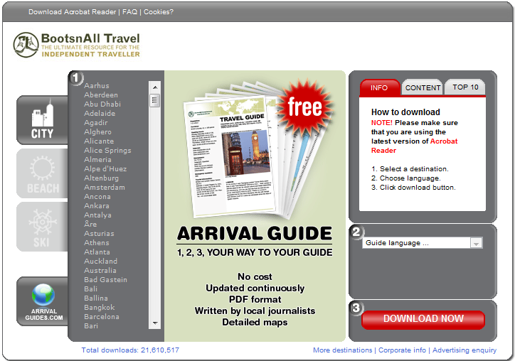 pdf travel guidebooks