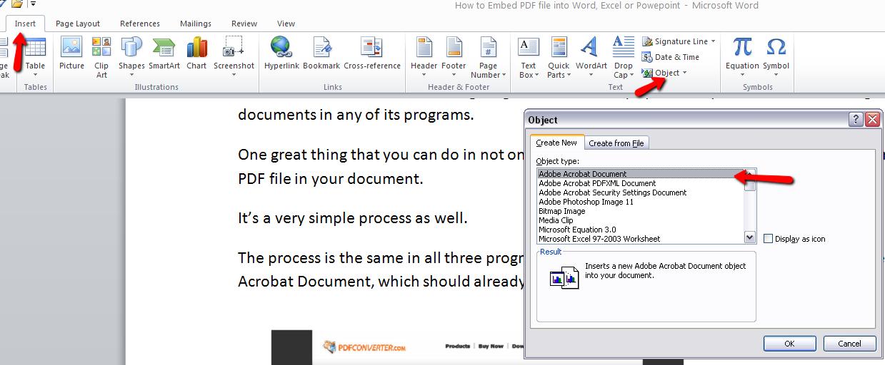 Как их файла word сделать pdf