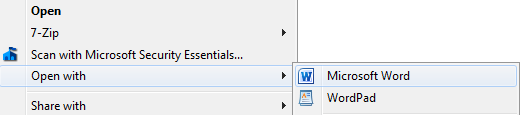word documents are smaller than pdf