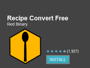 recipe conversion android app