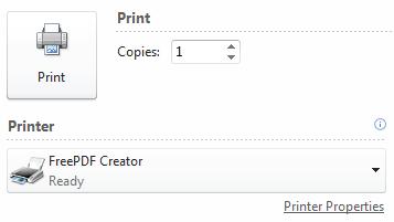 free pdf printer