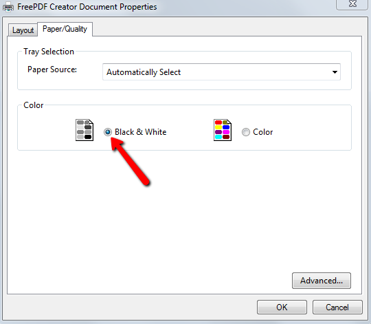 how to change the pdf document properties