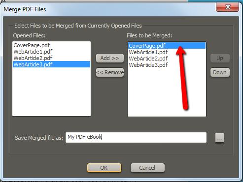 pce3 merge files
