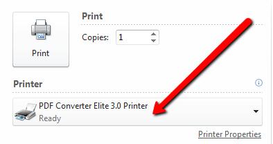 pce3 pdf printer