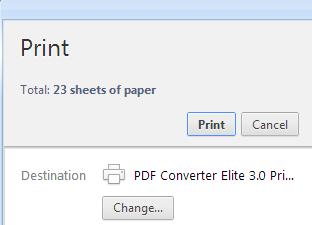 pce3 printer