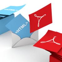 PDF Converter Elite, Batch Print HTML to PDF via Email
