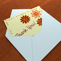 Captivating Thank You Cards Throughout How To Make A Thank You Card In Word