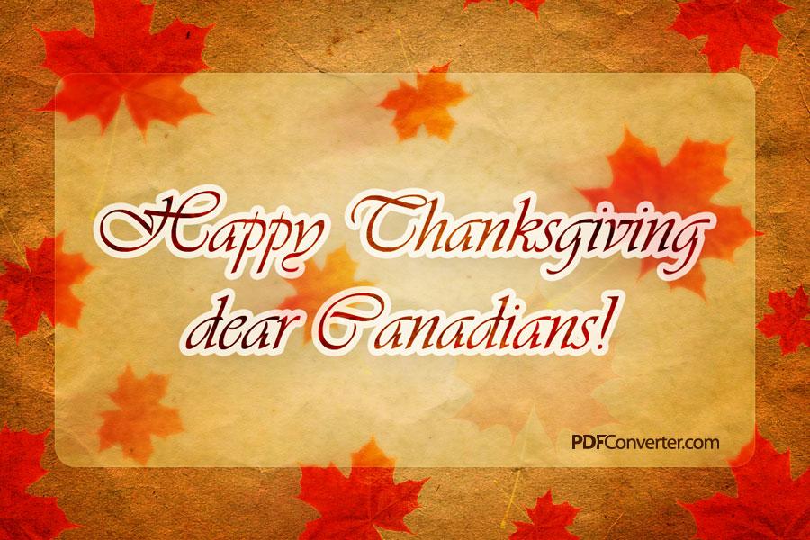 canada thanksgiving