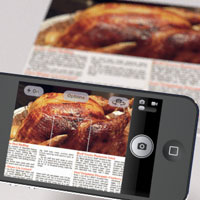 digitize edit thanksgiving recipes