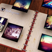 convert instagram to pdf album