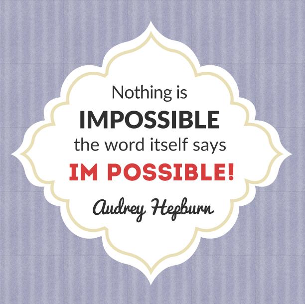 audrey hepbern quote