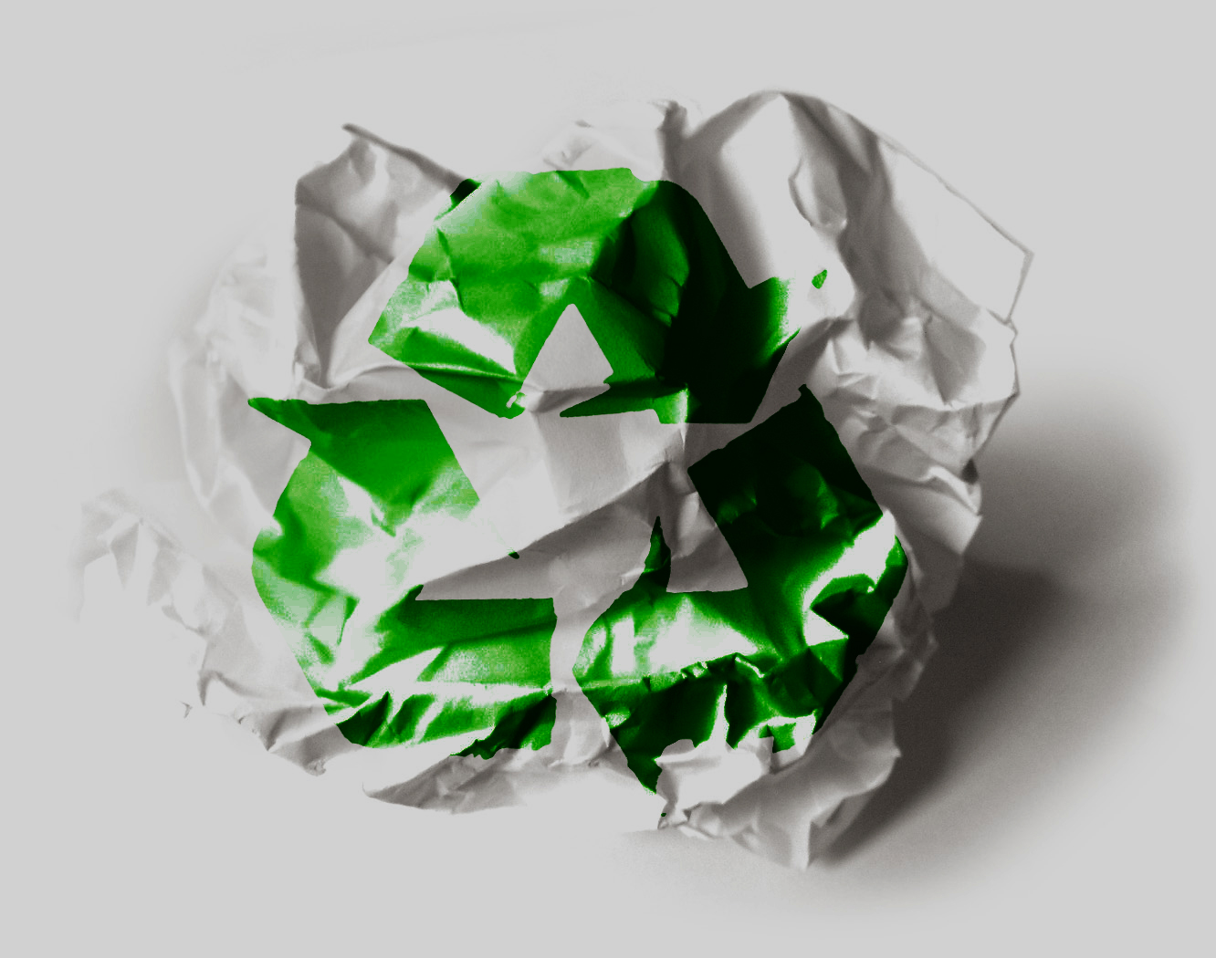 go paperless and recycle