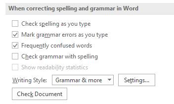 remove spelling mistakes