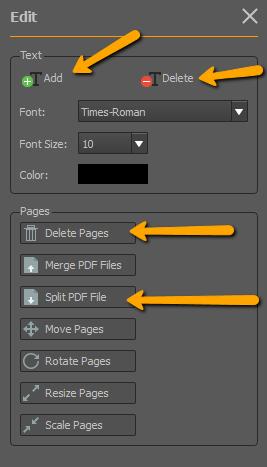 edit scanned pdf