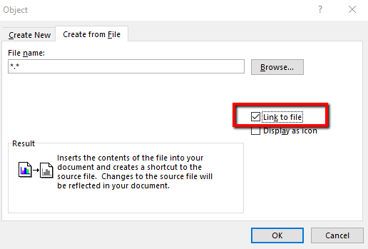 insert pdf into word as hyperlink