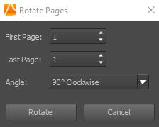 rotate pdf file