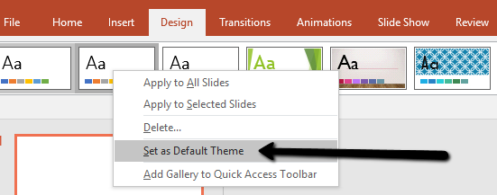 change slide size in powerpoint