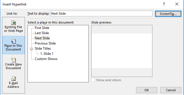 different page sizes in powerpoint