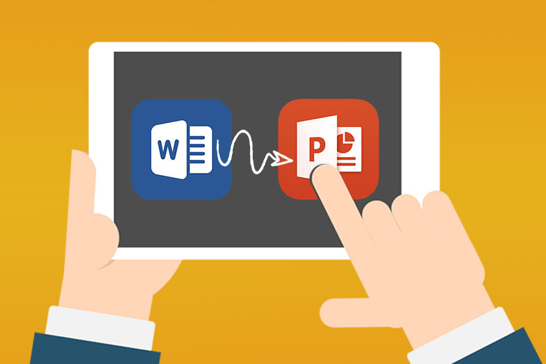 transfer word to powerpoint