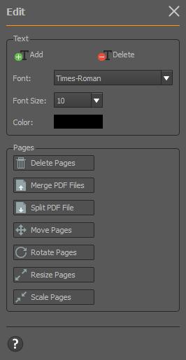 rearrange pdf pages