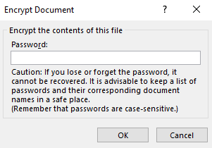 how to lock a word document