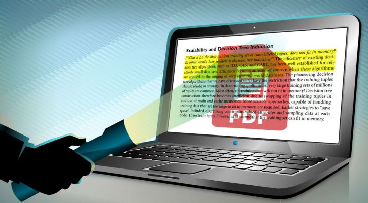 how to highlight in pdf compressed